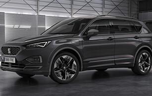 <strong>NY SUV:</strong> Seat Tarraco kommer også som ladbar hybrid. Foto: SEAT