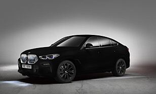 ETTER: Vantablack VBx2. Foto: BMW