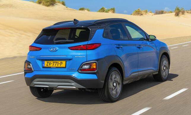SPENSTIG LOOK: Kona har vunnet en rekke priser på designen, og den er et friskt pust i B-segmentet. Foto: Hyundai