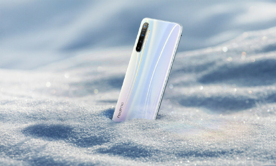 FØRST UT: Realme XT er den første smartmobilen med kamera på 64 megapiksler. Foto: Realme