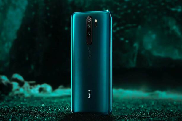 HAKK I HÆL: Like etter Realmes kunngjøring, avduket Xiaomi sin Redmi 8 Note Pro-mobil, også med 64 megapiksler kamera. Foto: Xiaomi