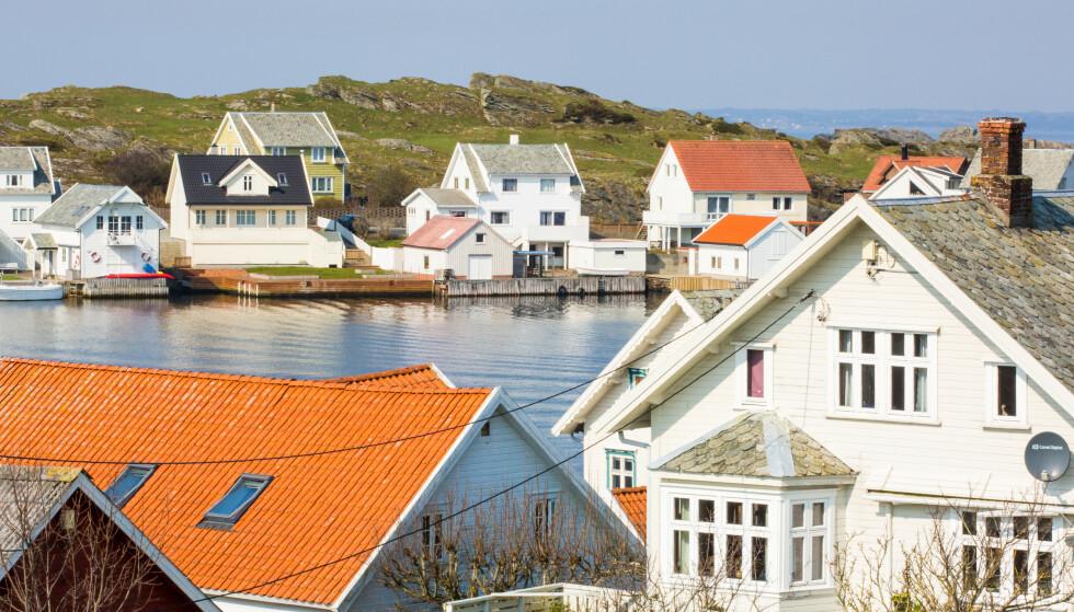 BEGRENSET: Innbyggerne på Kvitsøy har kun én matbutikk tilgjengelig av fysisk format på øya. Da er Internett og nettbutikker kjærkomment. Foto: Kvitsøy kommune.