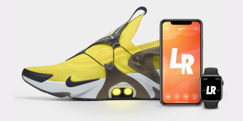 image: Nikes Adapt Huarache kan styres med Siri og Apple Watch