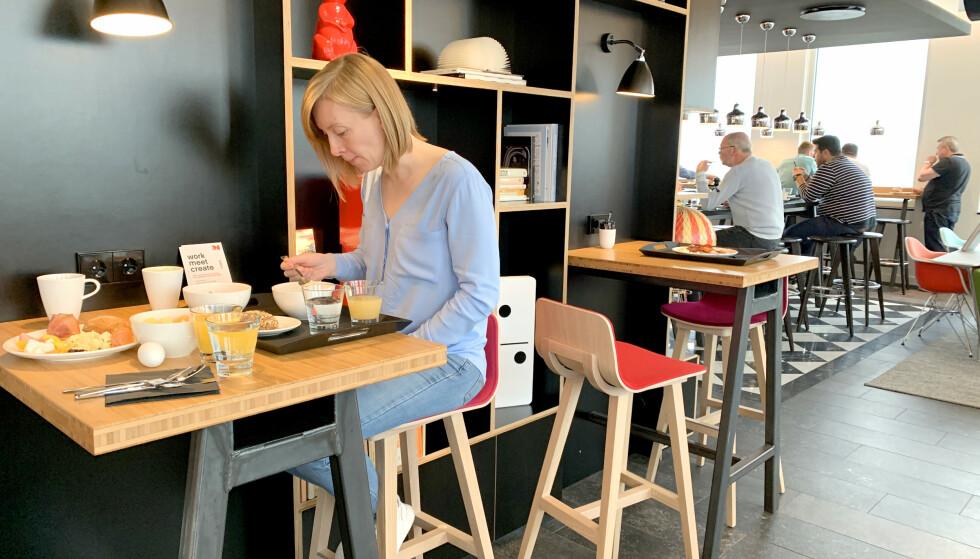 FROKOSTSALEN: «Frokostsalen» er det samme som vrimleområdet. Foto: Kristin Sørdal