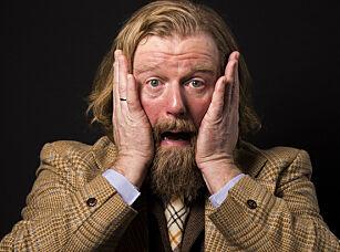 KJENT FJES: Den norske programlederen Petter Wilhelm Blichfeldt Schjerven er blant annet kjent fra «Typisk norsk». Han har også skrevet flere bøker. Foto: Mariam Butt / NTB scanpix
