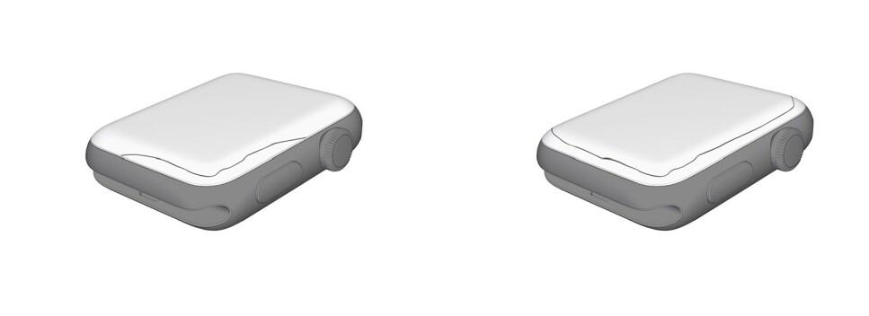 SLÅR SPREKKER: Flere Apple Watch-eiere opplever sprekkdannelser i skjermen på sine enheter. Foto: Apple