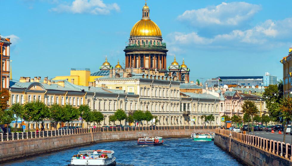 BLANT DE BILLIGSTE: St. Petersburg i Russland er på Forex Banks topp tre-liste over de billigste storbyene i verden. Foto: Shutterstock/NTB Scanpix.