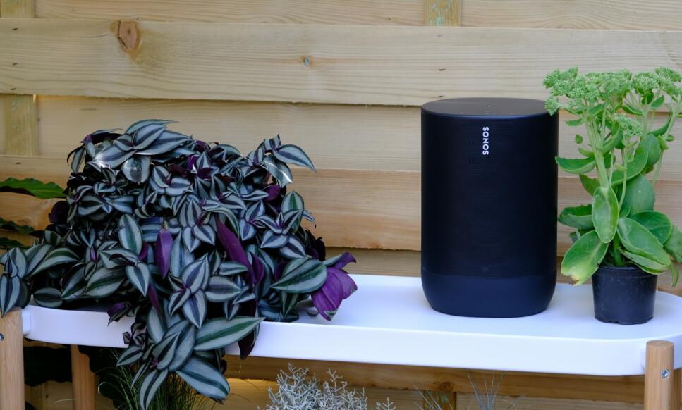 SONOS MOVE: Tre nyheter fra Sonos - en portabel høyttaler med Bluetooth og innebygget batteri. Foto: Martin Kynningsrud Størbu