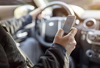 Forsikringsselskap vil belønne sjåfører som ikke bruker mobil