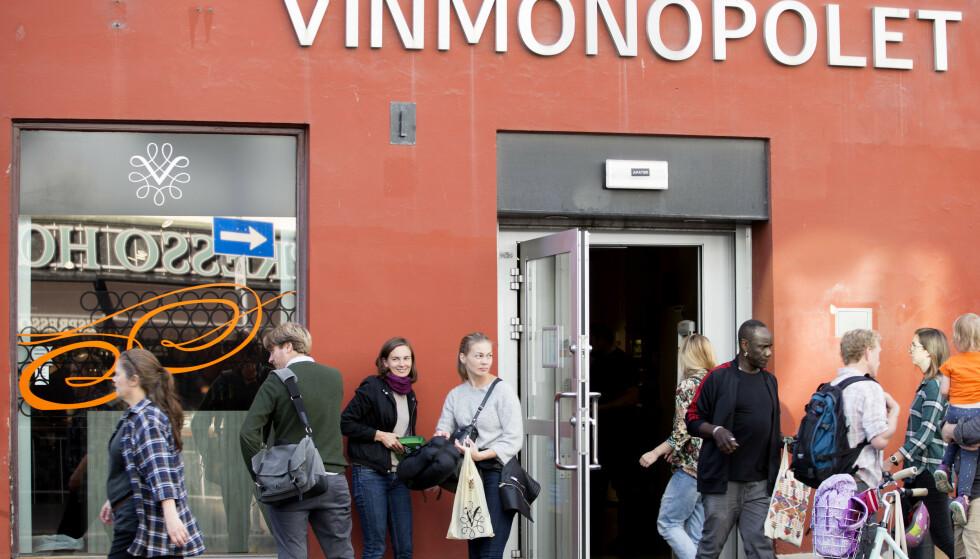 ALKOHOLSALG PÅ VALGDAGEN: Det er kommunen som bestemmer om det er åpent for alkoholsalg på valgdagen. Foto: NTB scanpix