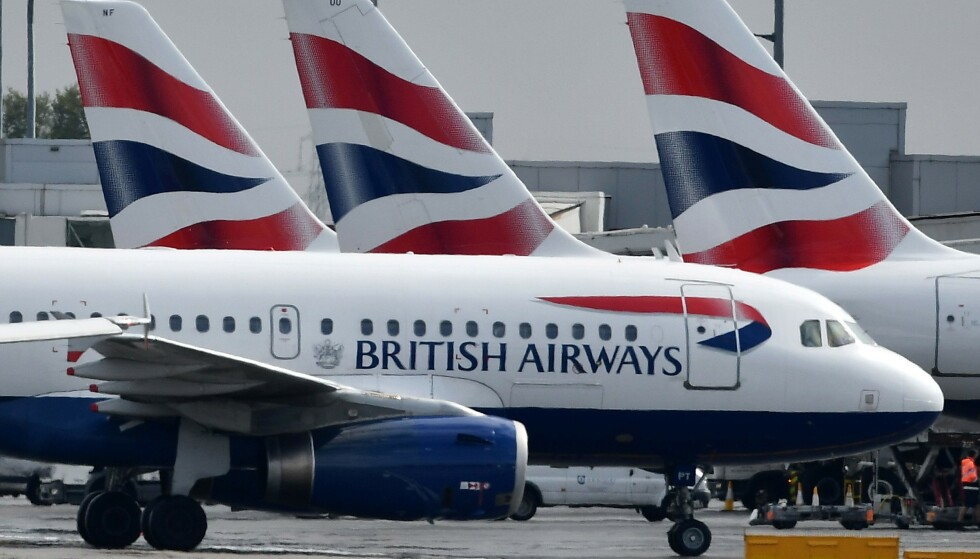 STREIK: En streik blant British Airways' flygere gjør at alle BAs flyvninger fra Norge er kansellert mandag og tirsdag. Foto: NTB scanpix