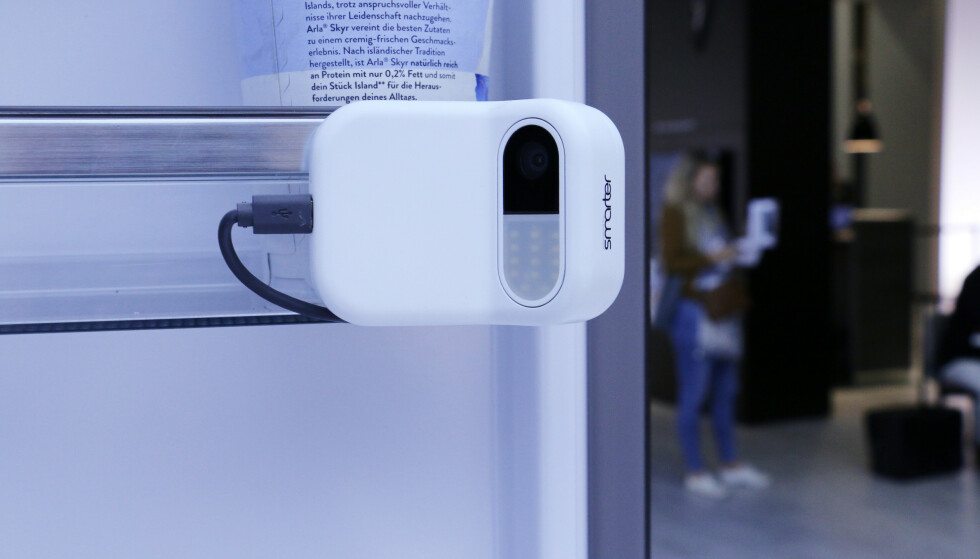 Kameraet kan gjøre kjøleskapet du allerede har, smartere. Foto: Berit B. Njarga