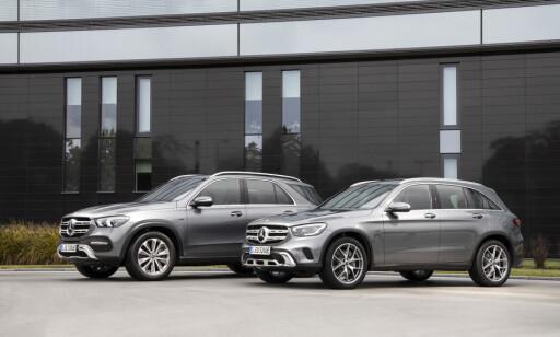 SUV-ER: Mercedes-Benz GLE og GLC. Foto: Daimler