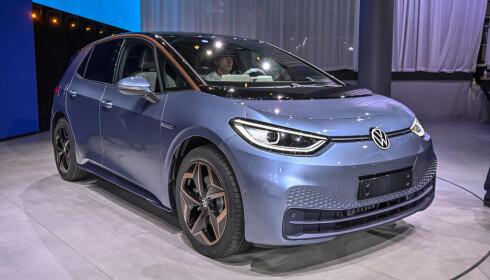 <strong>NY STRATEGI:</strong> I 2019 ble ID. 3, første modell ut på Volkswagens dedikerte elbilplattform, lansert. Det er bare en begynnelse. Foto: Jamieson Pothecary