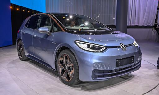 NY STRATEGI: I 2019 ble ID. 3, første modell ut på Volkswagens dedikerte elbilplattform, lansert. Det er bare en begynnelse. Foto: Jamieson Pothecary