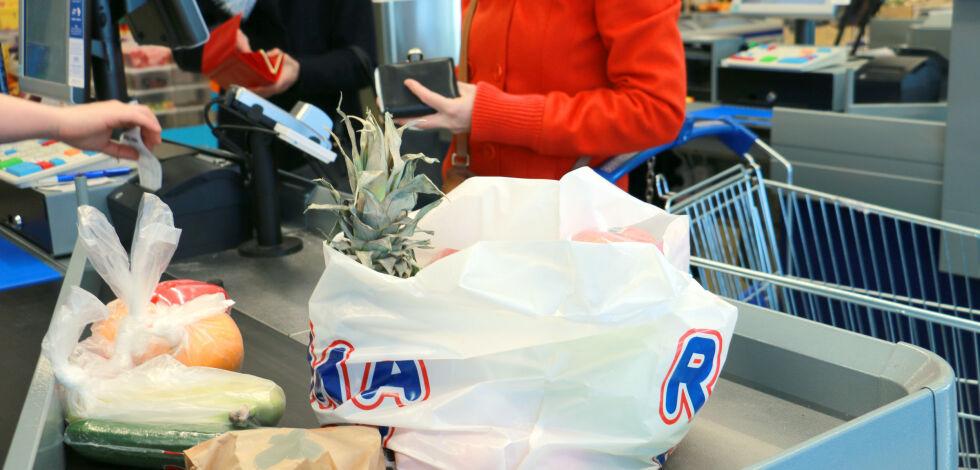 image: - Kraftig fall i matvareprisene