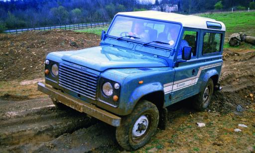 UTVIKLET: Land Rover Defender fra 1990. Foto: Simon Fox Syndicate