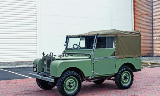 ORIGINALEN: Slik så 1-serie Land Rover ut i 1948. Foto: Simon Fox Syndicate