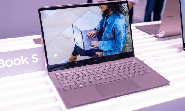 GALAXY BOOK S: Samsung kan komme til å lansere høstens mest spesielle PC, men da må de levere på ytelsen. Foto: Martin Kynningsrud Størbu