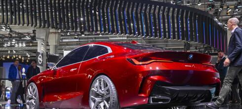 BMW gnistrer i Frankfurt