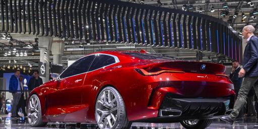 image: BMW gnistrer i Frankfurt
