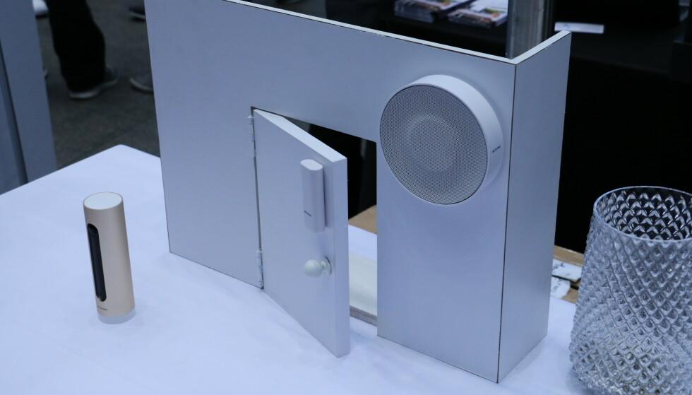 SMART ALARM SYSTEM: Netatmo lanserer et nytt overvåkingssystem for innendørsbruk. Foto: Martin Kynningsrud Størbu