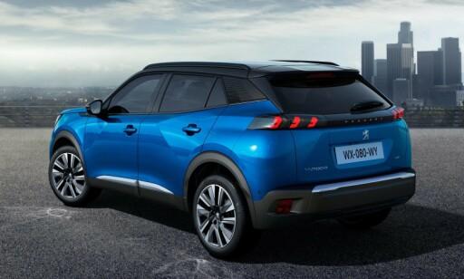EL-SUV: Peugeot e-2008 kan bli en bestselger. Foto: Peugeot