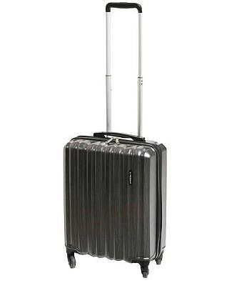 KABINKOFFERT FRA RUSTA: Kabinkofferten Regent fra Rusta skårer kun 0,1 poeng dårligere enn Samsonite-kofferten. Regent finnes i flere størrelser. Og ja, den er mye billigere: Denne utgaven, som er testet, koster 499 kroner. Foto: Rusta