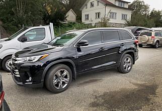 Ny Toyota-hybrid med 4x4 og 7 seter
