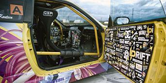 image: Linn Petrine har bilen alle ser på!