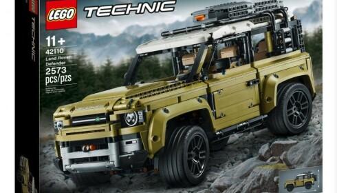 AVANSERT: 2.573 biter og avansert teknologi bor i Technic-utgaven av Land Rover Defender. Foto: Lego
