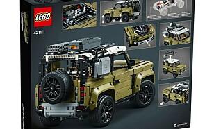 MYE TEKNIKK: Lego-bilen har tre differensialsperrer, luftfjæring og den mest avanserte girkassen til nå. Foto: Lego