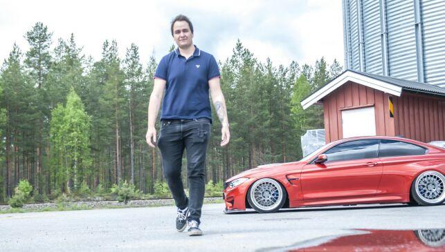 image: Henrik (23) kjører BMW med 430 hestekrefter!