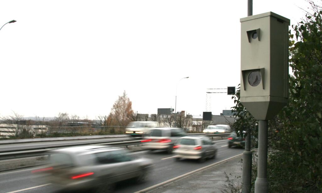 30 ÅR: I 30 år har fotoboksene stått langs norske veier. Streknings-ATK ble tatt i bruk for ti år siden. Foto: Rune Korsvoll