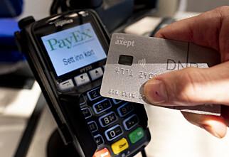 Rapport: Nordmenn betaler mest kontantløst i verden