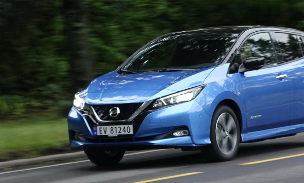 LEAF PÅ TOPP: Både menn og kvinner som kjøpte privatbil i 2018 hadde elektriske Nissan Leaf som favoritt. Foto: Jamieson Pothecary