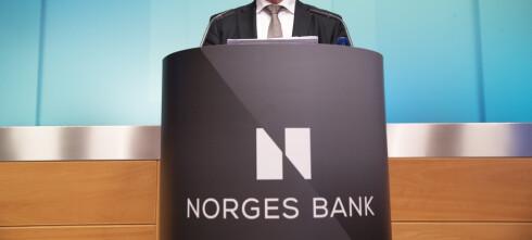 Norges Bank øker renta