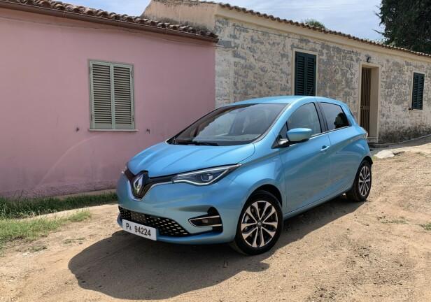 NYE FARGER: 2020-modellen av Zoe får et større utvalg farger, blant dem denne: «Celadon Blue». Foto: Knut Moberg