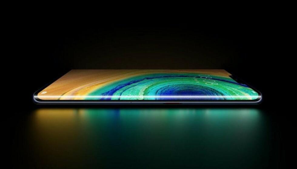 LANSERES I MORGEN: … men Huawei Mate 30 Pro ser det foreløpig ut til at nordmenn ikke vil få kjøpt. Foto: Evan Blass/EVLeaks