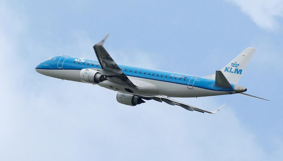 ERSTATTER LUFT MED LAND: Det nederlandske flyselskapet KLM melder at skal bytte ut én av fem daglige flyvningene mellom Brussel og Amsterdam med høyhastighetstog. Foto: Regis Duvignau/Reuters/NTB Scanpix.