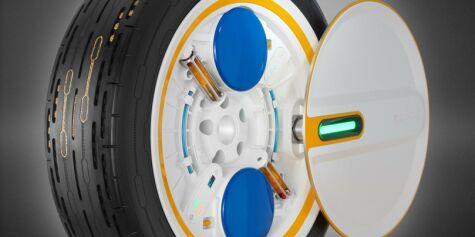 image: Hjulet som fyller luft av seg selv