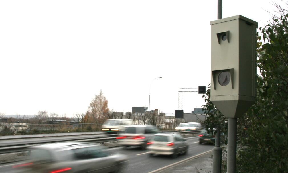 UFORSTÅELIG: Trygg Trafikk reagerer kraftig på at samferdselsministeren har bestemt at nye anlegg for gjennomsnitts-fartsmåling ikke skal tas i bruk. Foto: Rune Korsvoll