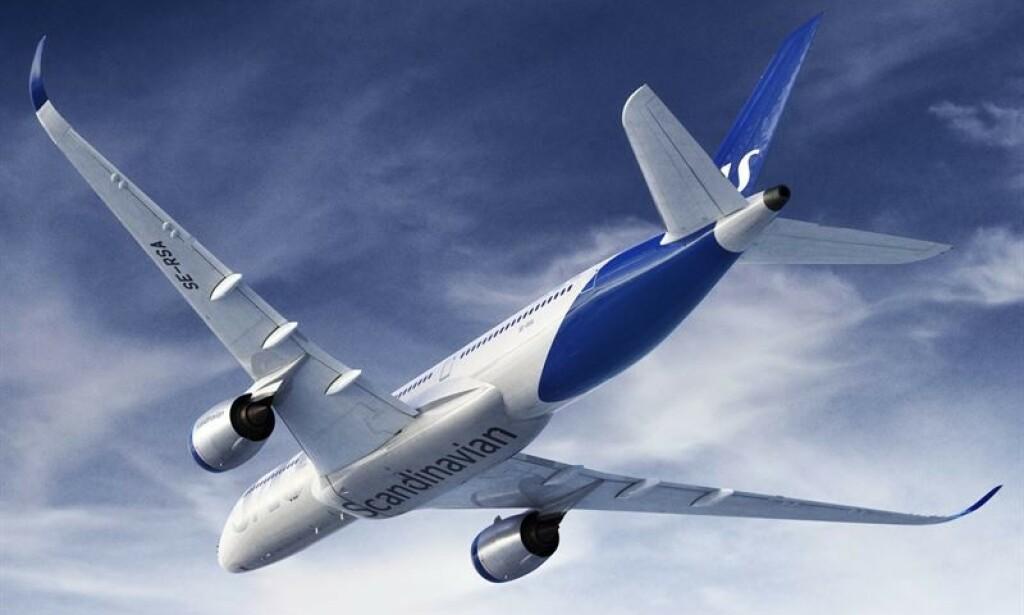 INGEN TVIL: Ordet «Scandinavian» har også stort sett alltid vært plassert under flyet på buken som et symbol på selskapets skandinaviske arv og for klar visuell identifisering fra bakken. Foto: Sas.
