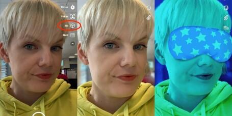 Snapchat lanserer 3D-selfier