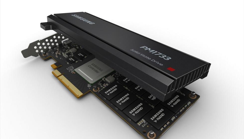 Samsung lanserer «udødelig» SSD-lagring