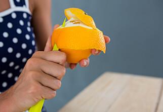 Sjekk alt appelsinskallet kan brukes til!