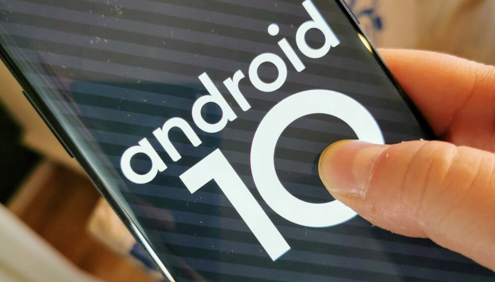 NY VERSJON: Android 10 ble sluppet 3. september, men som alltid – de fleste må vente en stund på oppdateringen. Foto: Pål Joakim Pollen
