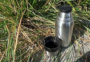 ÉN ELLER TO?: Smart kopp på Biltema-termosen.