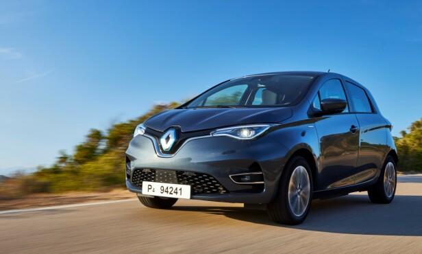LANG REKKEVIDDE: Det er ingen tvil om at Renault Zoe per i dag tilbyr lengst rekkevidde i forhold til innkjøpsprisen. Foto: Jean-Brice Lemal
