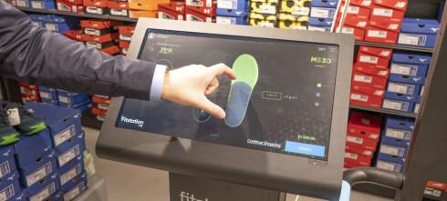 Bruker 3D-skanning for den perfekte skoen